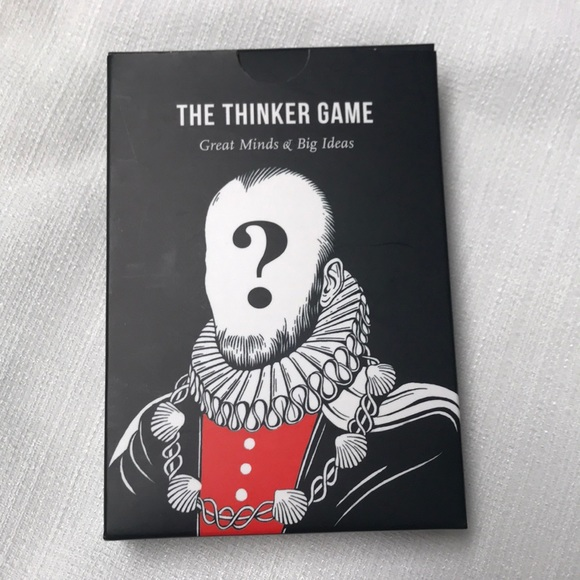"NEW! STOCKING STUFFER! ""The Thinker Game"""